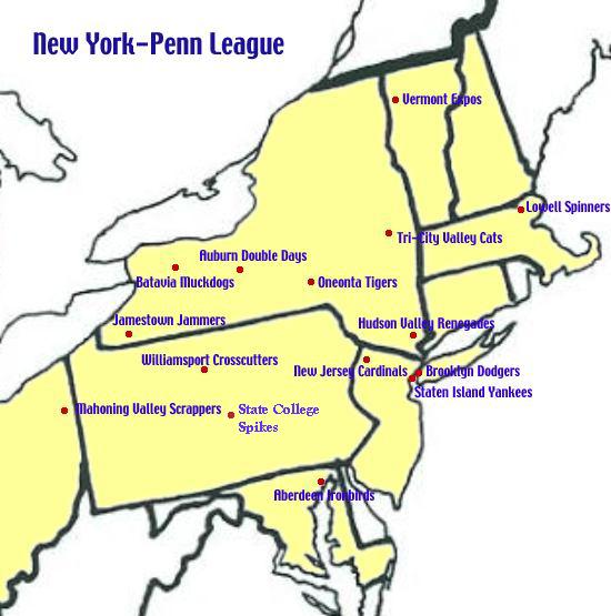 Map Jamestown